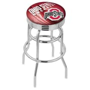 Holland Bar Stool NCAA 30'' Swivel Bar Stool; Ohio State