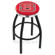 Holland Bar Stool NCAA 36'' Swivel Bar Stool; North Carolina State