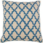 India's Heritage Royal Hand Embroidery Throw Pillow