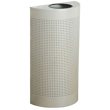 Rubbermaid® Half-Round Trash Can