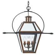 Laurel Foundry Modern Farmhouse Lois 4 Light Outdoor Hanging Lantern