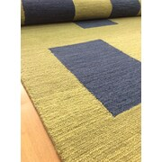 Eastern Weavers Wool Hand-Tufted Green/Navy Blue Area Rug