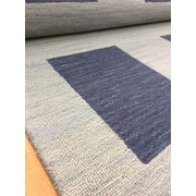 Eastern Weavers Wool Hand-Tufted Blue Area Rug