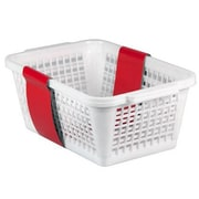 Home Basics Plastic Basket (Set of 2)