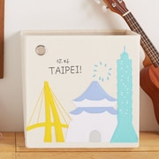 kaikai&ash City Taipei Themed Canvas Storage Box