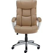 Staples Burlston High-Back Executive Chair; Camel