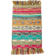 CLM Mountain Weave Hand-Woven Earth Multi Area Rug