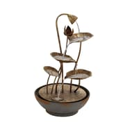 Woodland Imports Metal Fountain