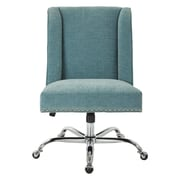 Inspired by Bassett Alyson Mid-Back Desk Chair; Sky