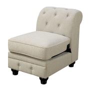 A&J Homes Studio Stanfordo Slipper Chair; Ivory