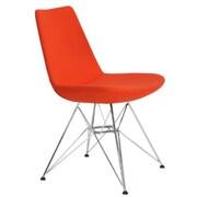 Modern Chairs USA Electra Tower Side Chair; Orange