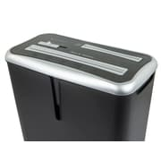 8-Sheet Cross Cut Shredder with Bin for Paper, CD, and Card