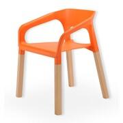 Zen Better Living Symphony Arm Chair; Orange