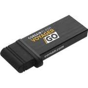 Corsair® Flash Voyager GO 128GB USB 3.0 PC/Mobile Flash Drive, Black (CMFVG128GBNA)
