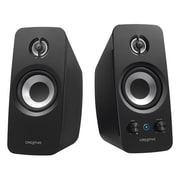 Creative T15 Bluetooth Wireless 2.0 Speaker System, Black