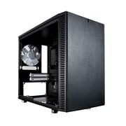 Fractal Design Define Nano S Window Computer Case, Black (DEFNANOSBKW)