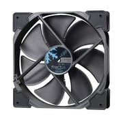 Fractal Design Venturi HP-14 High Pressure Series 140 mm PWM Cooling Fan, Black/Dark Gray (FD-FAN-VENT-HP14-PWM-BK)