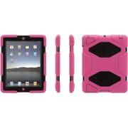 "Griffin Survivor All-Terrain GB353793 Polycarbonate/Silicone Case for 9.7"" iPad 2/3/4, Pink/Black"