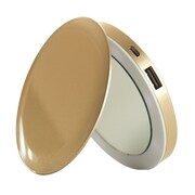 Hyper Products Pearl Lithium Polymer Compact Mirror/Battery Pack for iPhone, Gold (PL3000)