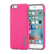 Incipio® DualPro Impact Absorbing Hard Shell Case for iPhone 6 Plus/6s Plus, Pink/Charcoal (IPH1195PNKGRY)