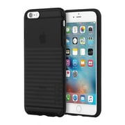 Incipio® Rival Co-Molded Transparent Textured Case for iPhone 6 Plus/6s Plus, Black (IPH1198BLK)