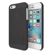 Incipio® Feather Pure Ultra-Thin Snap-On Case for iPhone SE, Black (IPH1436BLK)