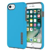 Incipio® DualPro The Original Dual Layer Protective Case for iPhone 7, Cyan/Charcoal (IPH1465CYC)