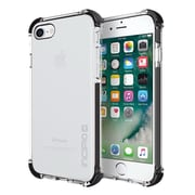 Incipio® Reprieve Protective Case with Reinforced Corners for iPhone 7, Clear/Black (IPH1470CBK)