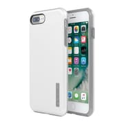 Incipio® DualPro SHINE Case for iPhone 7 Plus, White/Gray (IPH1492WGY)