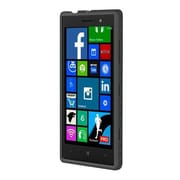 Incipio® Octane Co-Molded Impact Absorbing Case for Nokia Lumia 830, Black (NK188BLK)