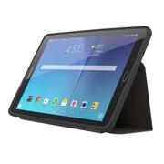 "Incipio® Clarion SA683BLK TPU/Polymer Folio Case for 9.6"" Galaxy Tab E, Translucent"