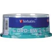 Verbatim® 4.7GB DVD Rewritable Media