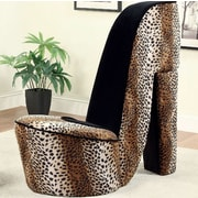 A&J Homes Studio Leopard Heely Lounge Chair