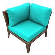TK Classics Manhattan Deep Seating Chair w/ Cushions; Aruba