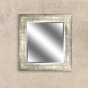 Y Decor Champagne Reflection Beveled Wall Mirror