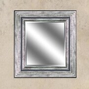 Y Decor Odessa Silver Reflection Beveled Wall Mirror