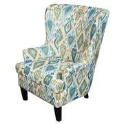 Porter International Designs Clover Wingback Arm Chair