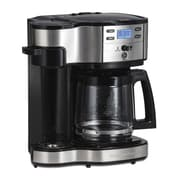 Hamilton Beach The Scoop Two Way 12 Cup Brewer Coffee Maker