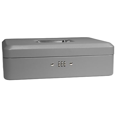 Barska Large Gray Cash Box w/ Combination