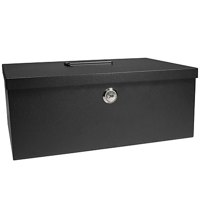 Barska Cash Box and 6 Compartment Coin