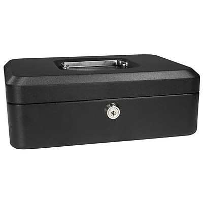 Barska Small Black Cash Box w/ Key