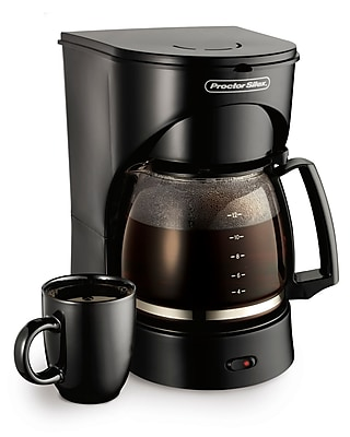 Proctor-Silex 12 Cup Coffee Maker; Black WYF078279848593