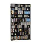 Atlantic Multimedia Storage Rack; Espresso