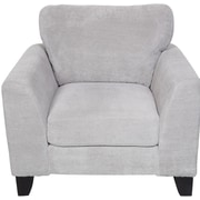 Porter International Designs Brighton Arm Chair; Light Gray