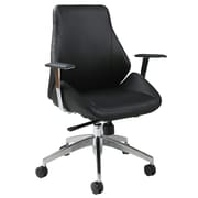 Impacterra Isobella Desk Chair; Black