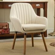 Roundhill Furniture Tuchico  Arm Chair; Tan