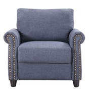 Madison Home USA Arm Chair ; Blue