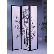 Wildon Home   70'' x 51'' Bamboo Shoji 3 Panel Room Divider