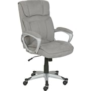 Serta at Home Cyrus Executive Chair; Glacial Gray