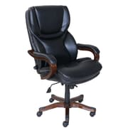 Serta at Home High-Back Executive Chair; Black